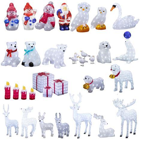 Mit Freundlichen Gr En Und Sch Ne Weihnachten leuchtfiguren weihnachten au 223 en led rentier elch laufend