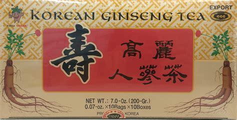 Jual Korean Ginseng Tea korean ginseng tea instant 7oz x 100 bags rockman company