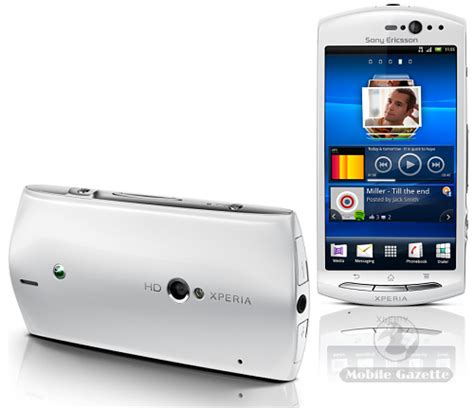 info tech sony ericsson xperia neo v bawa jeroan baru android v2 3 4 fitur tambah sangar