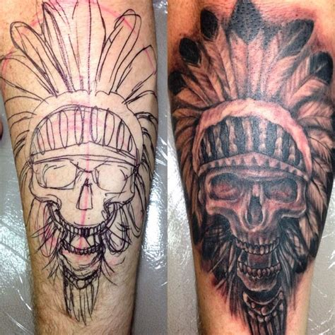watercolor tattoo in bali 1000 ideas about indian skull on indian