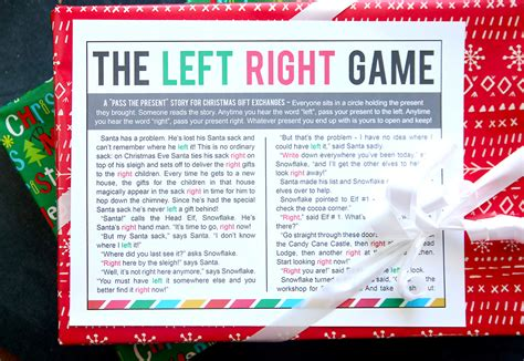 left and right and across christmas tale the left right w printable story it s always autumn