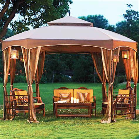 Sienna Octagon Gazebo Replacement Canopy Garden Winds