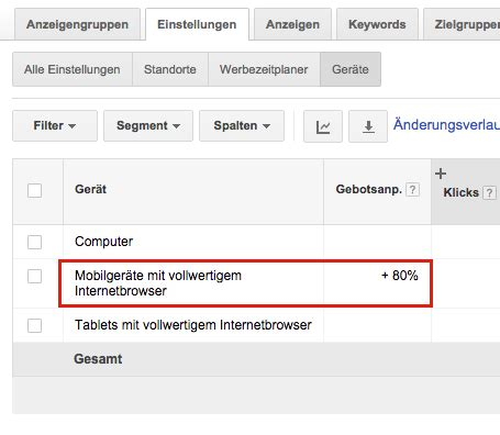 adwords mobile mobile kagnen in adwords site name