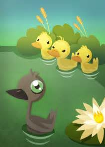 my conscience so the ugly duckling is to be punished