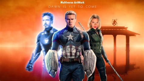 avengers endgame wallpaper mvartworks deviantart