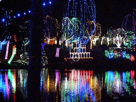 Lights On The Lake Columbus Zoo The Kid S Fun Review Zoo Light Show