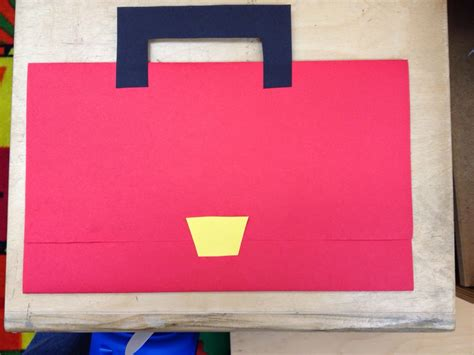How To Make A Paper Tool Box - the teaching zoo s day