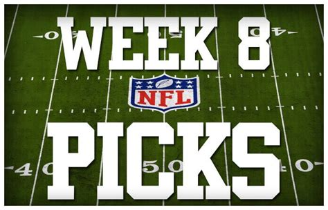 nfl week 8 best betting picks bigonsports