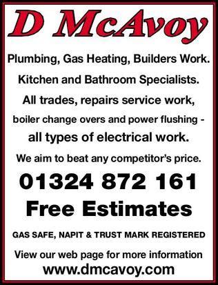details for derek mcavoy plumbing heating services in