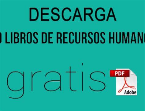 libros sobre recursos humanos en pdf gratis descarga 50 libros de marketing en pdf 161 sin costo circulo de negocio