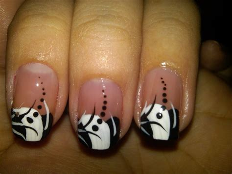 black and white pattern nails black and white nail art designs acrylic nail designs