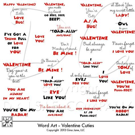 S Day Words For Cards