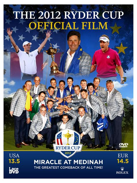 The Miracle At Medinah Cup 2012 Official Dvd Golfonline
