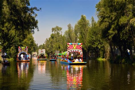 The Floating Gardens Of Xochimilco by Xochimilco Floating Gardens Of Mexico City
