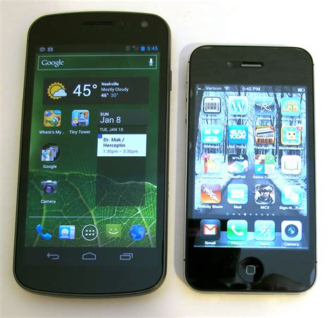 nexus phone review samsung galaxy nexus smartphone review