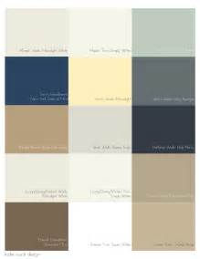 paint color swatches rusch design picking a palette for your whole house