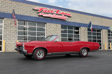 Pontiac Convertible For Sale by 1967 Pontiac Gto Convertible For Sale 84012 Mcg