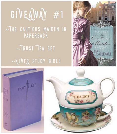 Enter The Giveaway - bookreview giveaways the cautious maiden buzzing about books