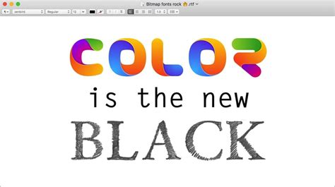color text color fonts get ready for the revolution