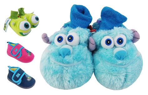baby slippers size 6 infant baby boys slippers monsters inc novelty