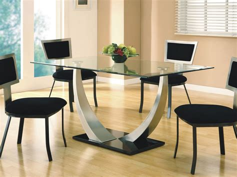 Small Glass Dining Tables Small Rectangle Glass Dining Table Peenmedia
