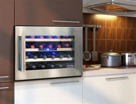 wall mounted wine cooler uk kitchen wine cooler peenmedia