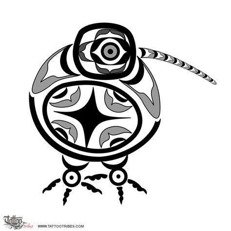 kiwi bird tattoo designs of haida kiwi generosity nz custom