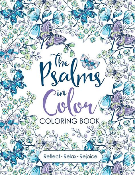 Psalms In Color Coloring Book
