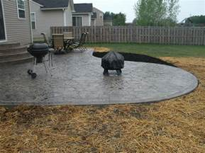 How Much Does A Paver Patio Cost Patio How Much Does A Concrete Patio Cost Home Interior Design