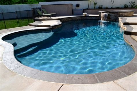 serenity pool waterfall installation youtube swimming pool rock waterfalls bing images