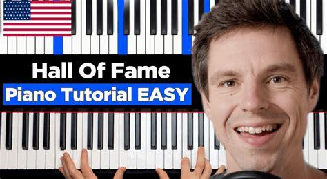 Tutorial Piano Hall Of Fame   piano tutorials archives werdemusiker com