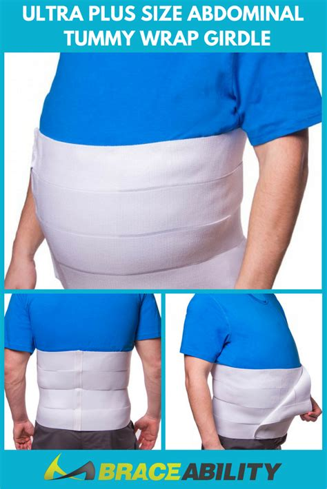 ultra plus size abdominal tummy wrap girdle this ab wrap compresses the abdominal lower back