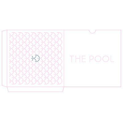 Gift Card Pool - two fish graphics pool gift card sleeve laserlogik