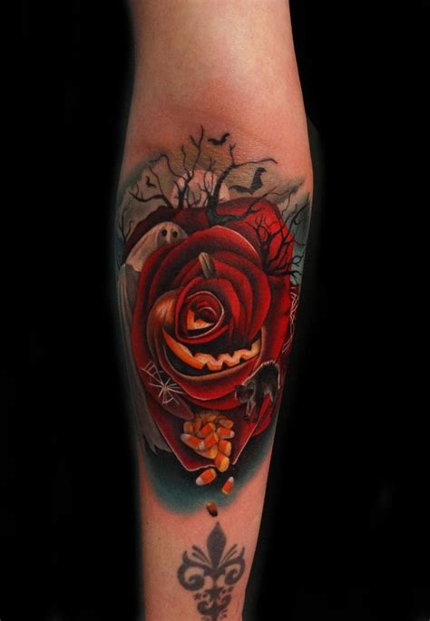 rose tattoo artist by andr 233 s acosta artist