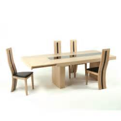 table de salle 224 manger contemporaine extensible en ch 234 ne