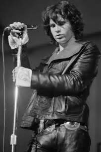 Loses Shirt While Performing Live by Jim Morrison Style Leather Icon