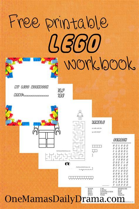 free printable lego workbook one mama s daily drama