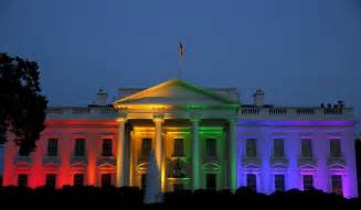 what color is the white house white house takes on rainbow colors in honor of supreme