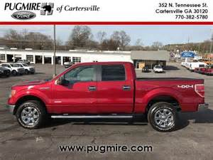 Pugmire Ford Cartersville 2013 Ford F150 Xlt For Sale In Cartersville Cars