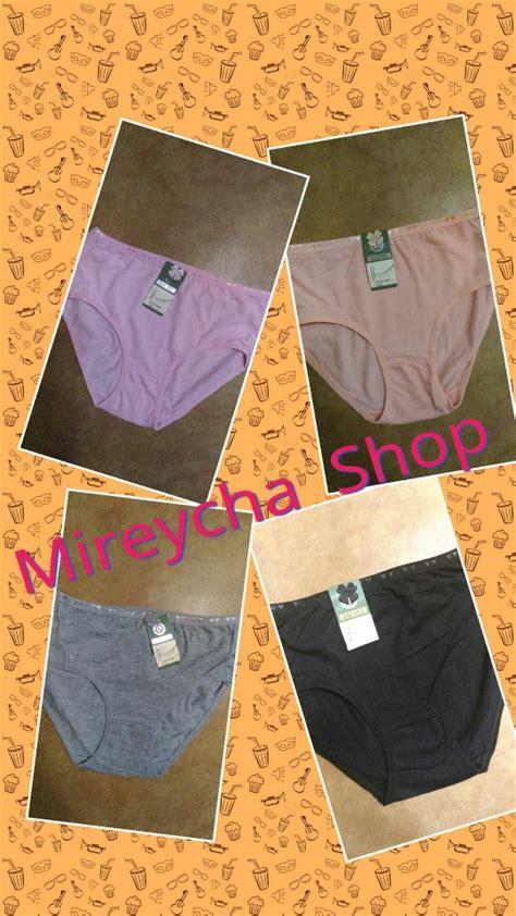 Celana Dalam Wanita Yutind Bordir M By M jual beli celana dalam wanita bahan katun 3 pc rp