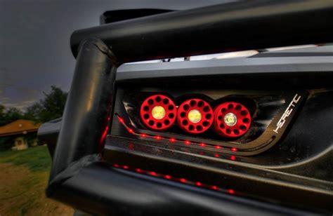 heretic studios polaris rzr xp1000 turbo 900s led headlights