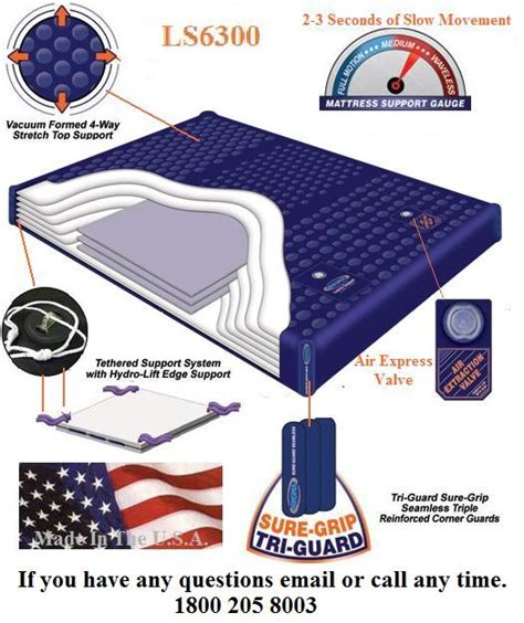 King Size Waterbed Mattress Waveless California King Ls6300 95 Waveless Waterbed Mattress With Fill Kit