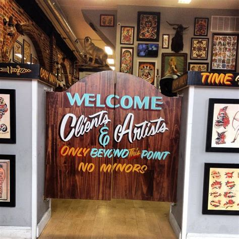 famous tattoo shops best 25 shop decor ideas on