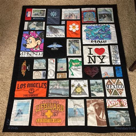 t shirt memory quilt pattern a great exle of a t shirt memory quilt sewfrench