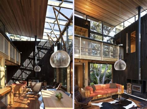 awesome forest home interior plans iroonie com contemporary forest beach house design with wooden