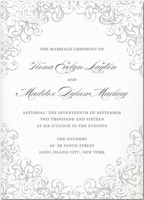 wedding program invite to reception wedding programs wedding program wording