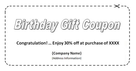 Coupon Template Word Sadamatsu Hp Microsoft Coupon Template