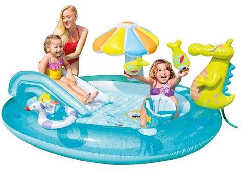 Kolam Baby Smiley Giraffe Baby Pool Intex 57105 T2909 intex gator play center age 3 57129 shoppers pakistan