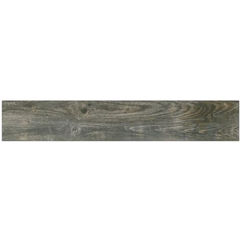 Reclaimed Wood Tile Flooring shop style selections kaden reclaimed wood look porcelain