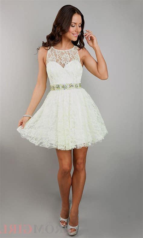 white lace homecoming dress naf dresses